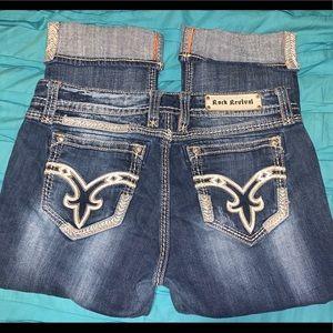 Women's Rock Revival Jeans / Capri Pants